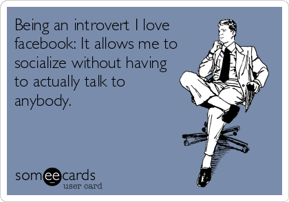 Introverted Social Media