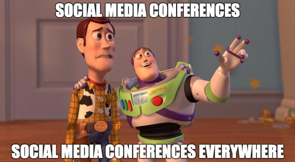 Social Media Conferences Meme