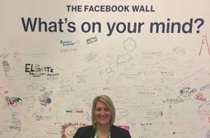 Tracy Whitelaw at Facebook Offices in Sydney, Australia